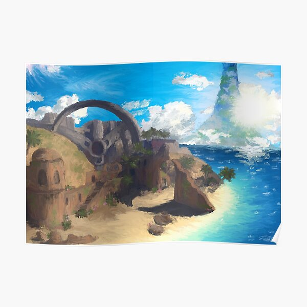 Impressionist Last Resort Poster