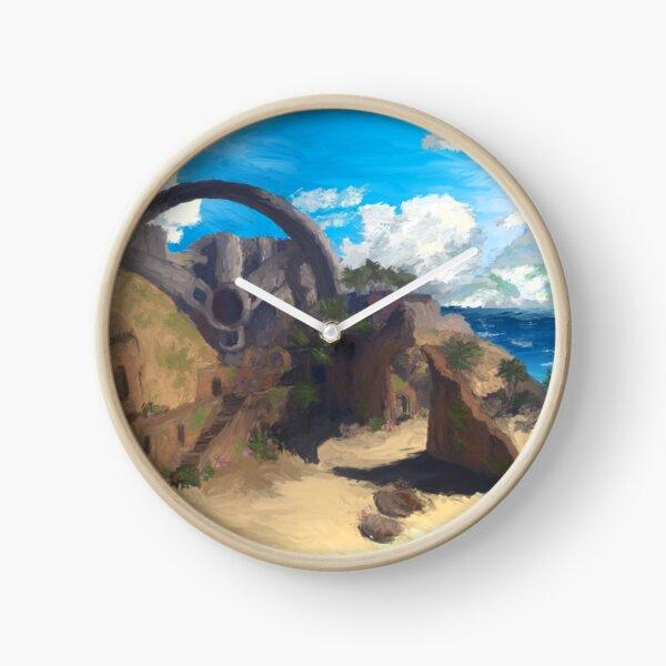 Impressionist Last Resort Clock