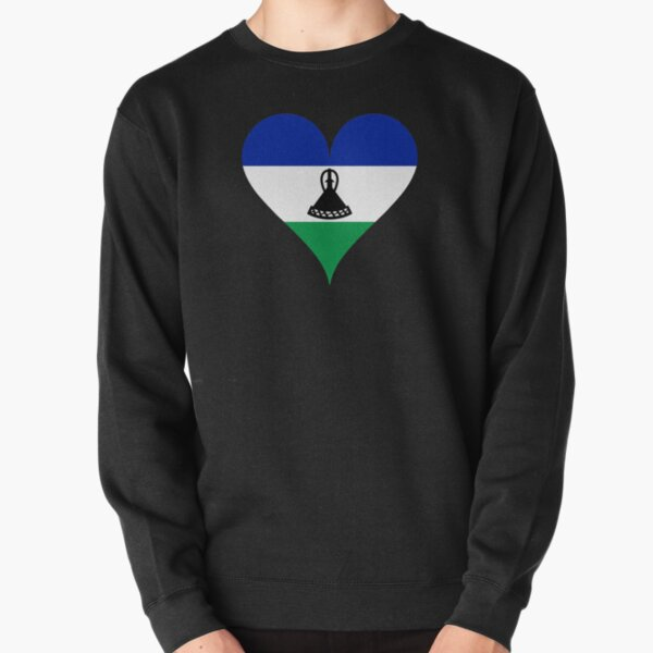 I Love Heart Maseru Black Sweatshirt