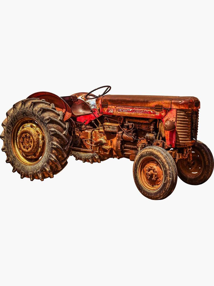 Rusty Massey Ferguson Tractor by liesjes