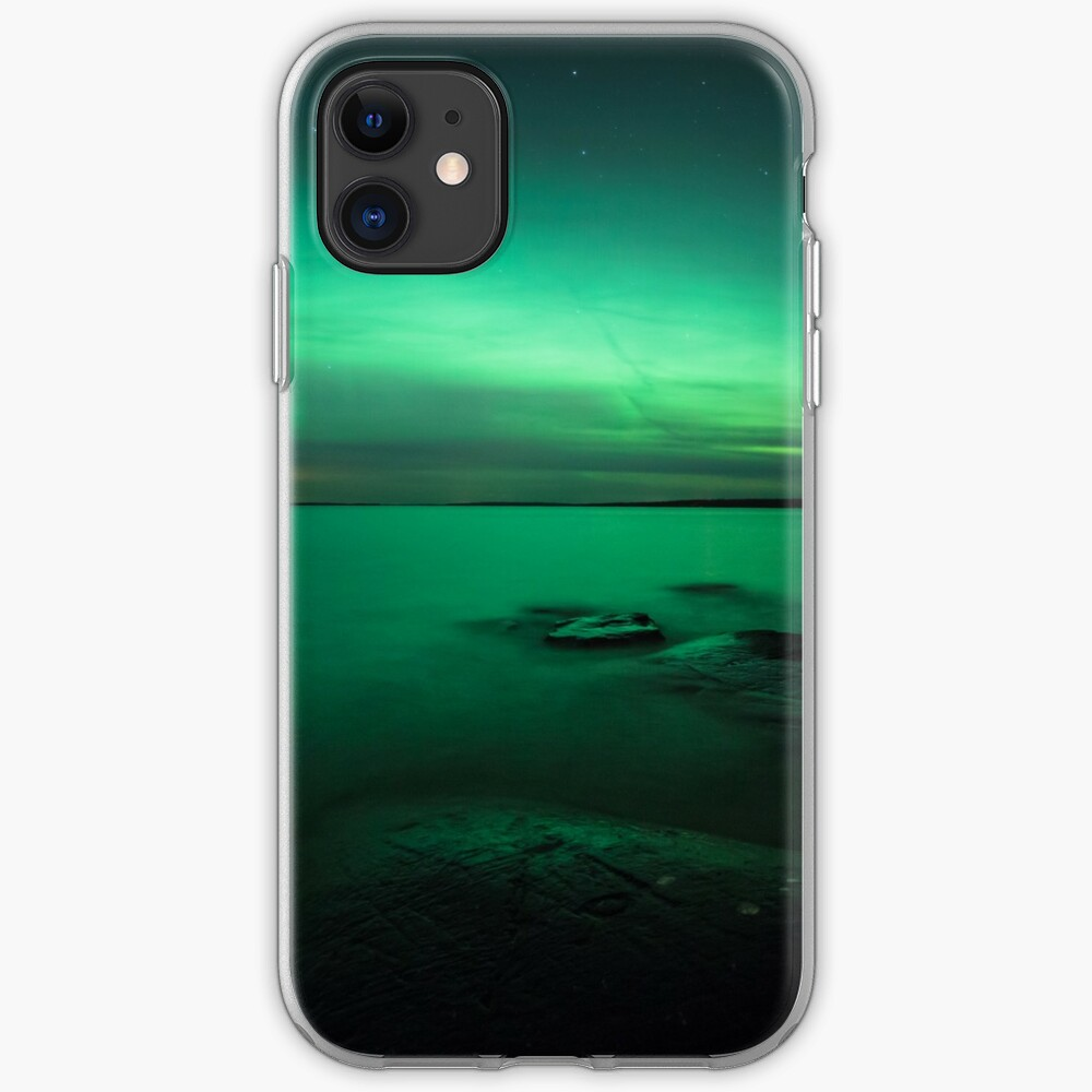Mystic northern lights glow iPhone Case & Cover