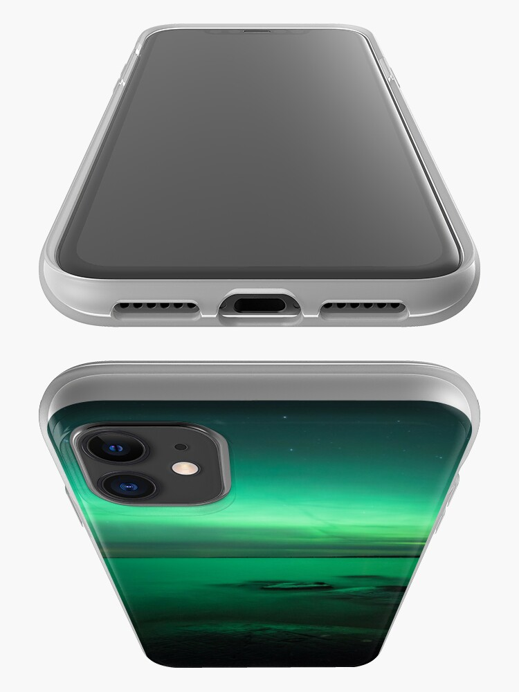 Alternate view of Mystic northern lights glow iPhone Case & Cover