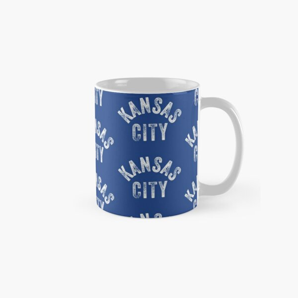 KC Royal Blue Classic Kansas City Vintage Local Kc Baseball Fan Gear Kansas city KC Face mask Kansas City facemask Classic Mug