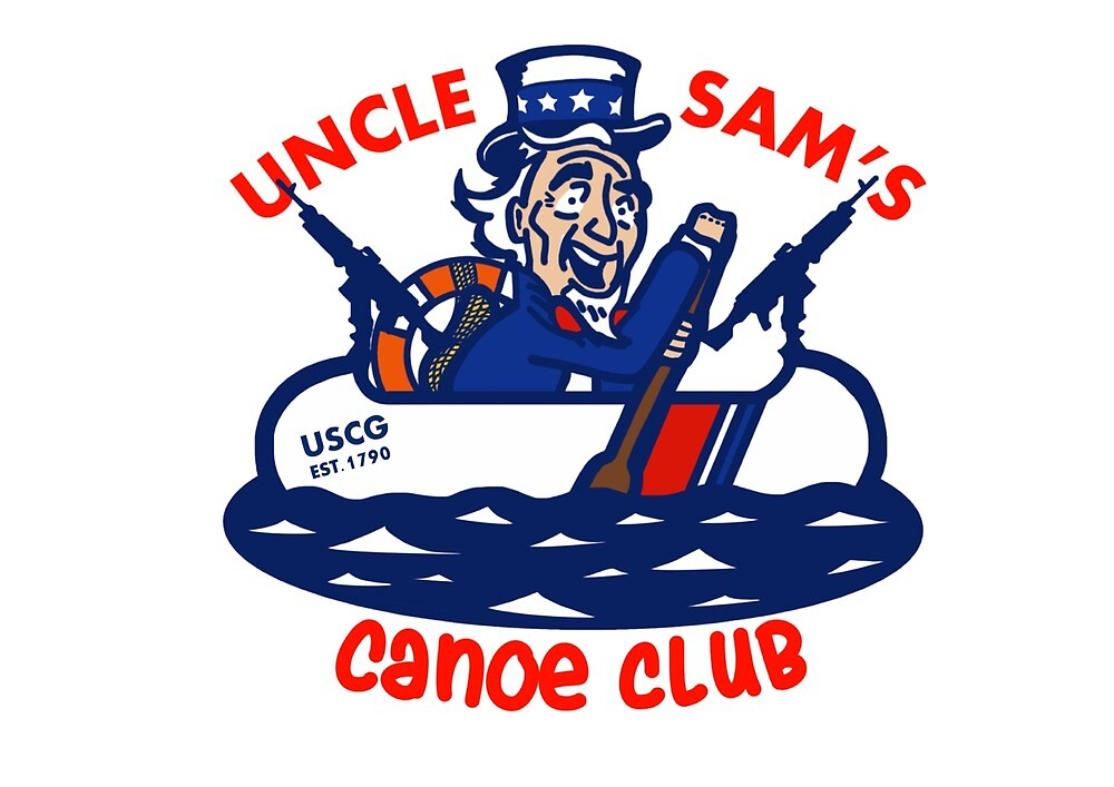 Uncle Sam's Canoe Club - Full Logo by AlwaysReadyCltv