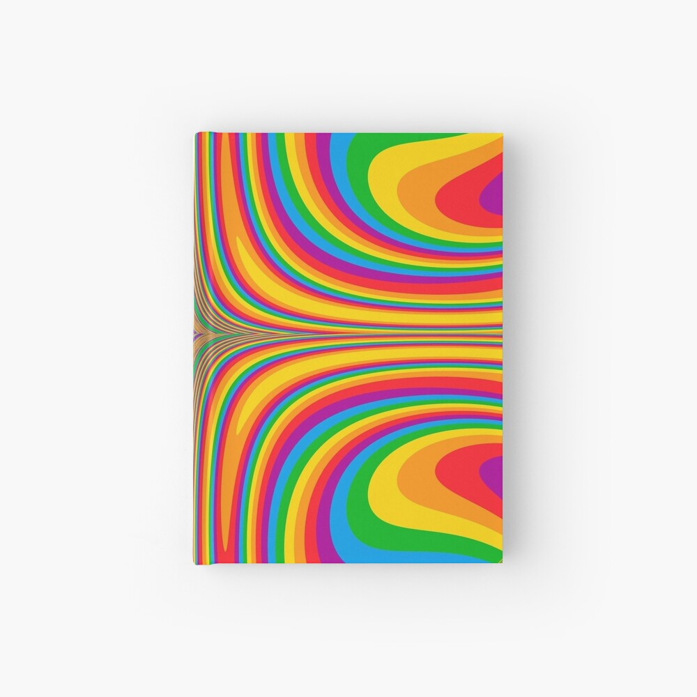 Psychedelic Hardcover Journal