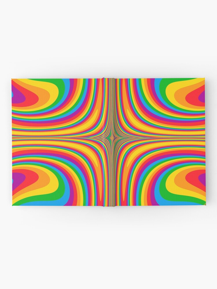 Alternate view of Psychedelic Hardcover Journal