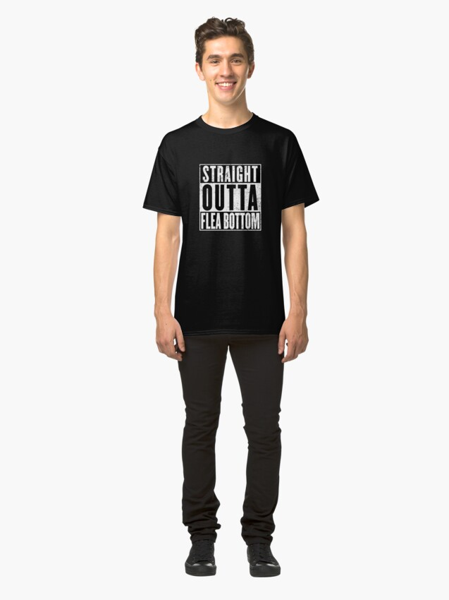 Alternate view of Straight Outta Flea Bottom Classic T-Shirt