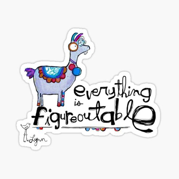 Figureoutable Sticker