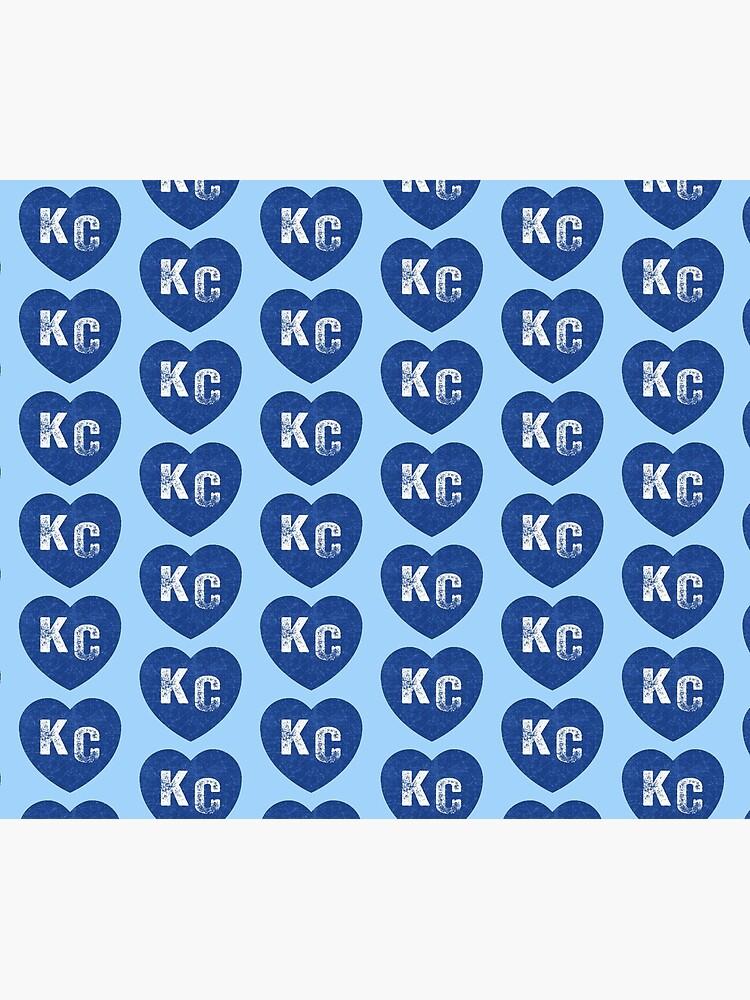 Royal Blue KC Blue Heart Kansas City Hearts I Love Kc heart Kansas city KC Face mask Kansas City facemask by kcfanshop