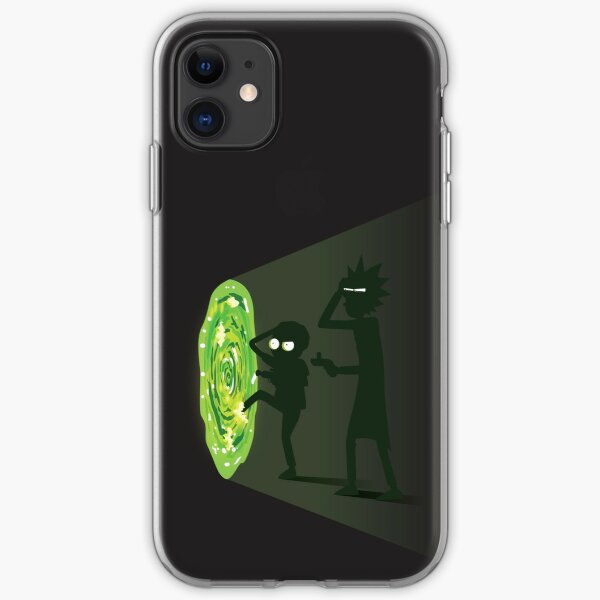 Rick and Morty - Portal Travel iPhone Soft Case