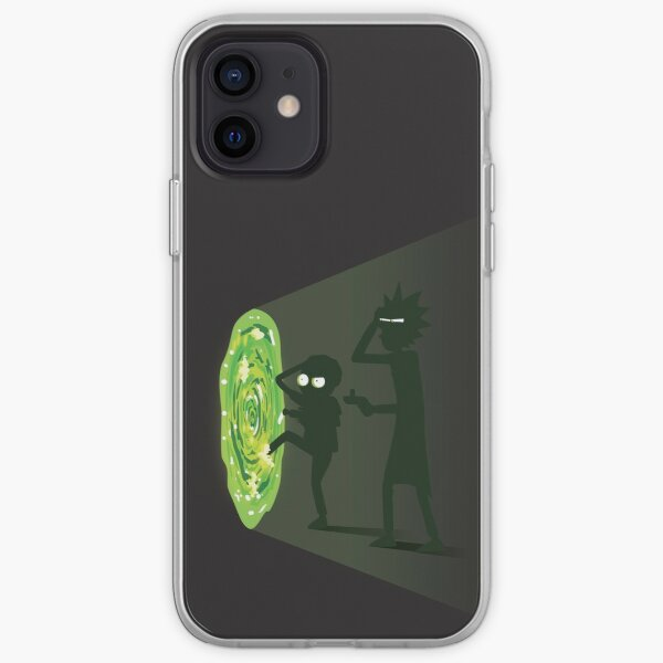 Rick et Morty - Portal Travel Coque souple iPhone