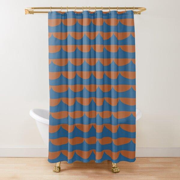 valovi v.2 Shower Curtain
