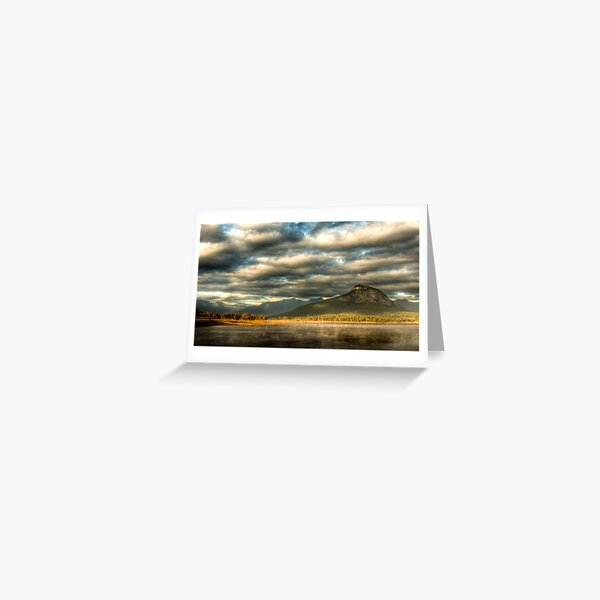 Lake Moogerah - Early Morning Mist Greeting Card