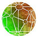 Karte inspiriert Silhouette von InspiredShadows