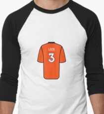 Drew Lock Jersey Baseball ¾ Sleeve T-Shirt