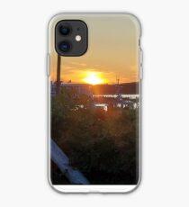 Sunset at Pilot House Restaurant & Lounge iPhone Case