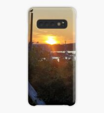 Sunset at Pilot House Restaurant & Lounge Case/Skin for Samsung Galaxy