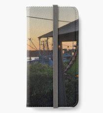 Sunset at Pilot House Restaurant & Lounge iPhone Wallet/Case/Skin