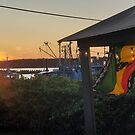 Sunset at Pilot House Restaurant & Lounge by thesunsetkid