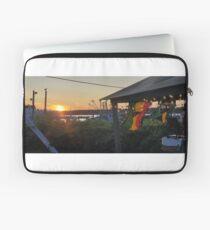 Sunset at Pilot House Restaurant & Lounge Laptop Sleeve