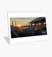 Sunset at Pilot House Restaurant & Lounge Laptop Skin