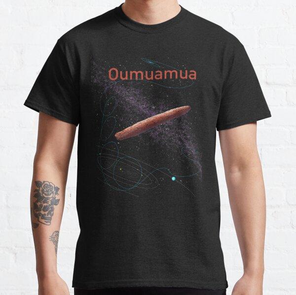 Oumuamua interstellar asteroid/ comet design asteroid day art Classic T-Shirt