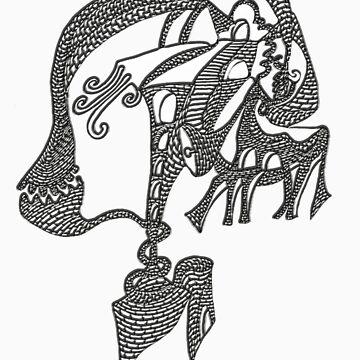 ESA NOCHE AL MIRARME by melicriado-art