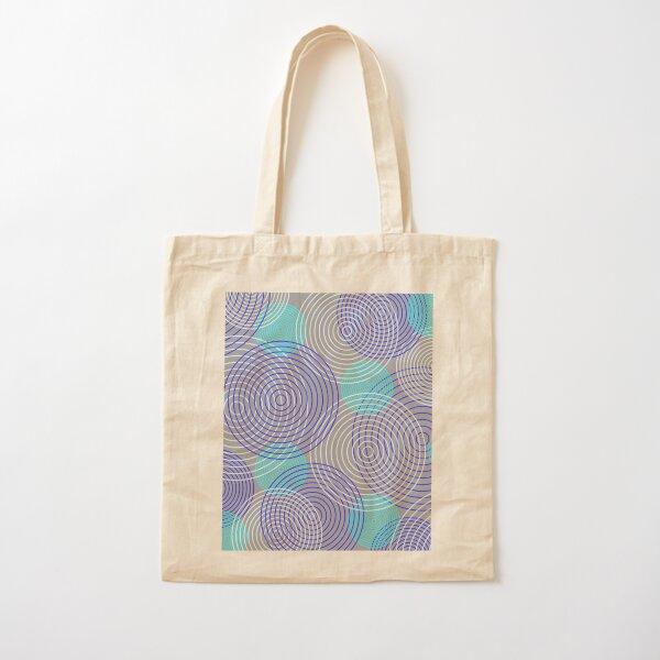 krugovi (gray) Cotton Tote Bag