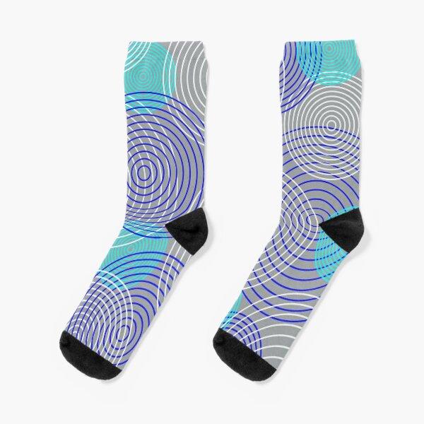 krugovi (gray) Socks