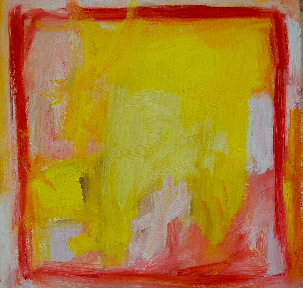Yellow painting No 16 by Don  Julian