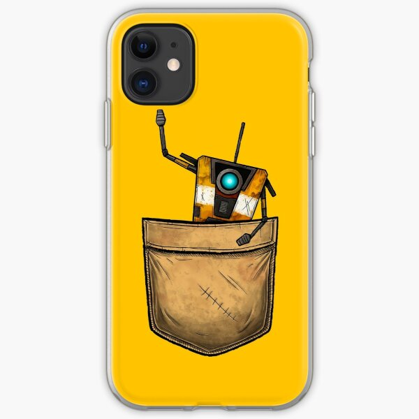 Pocket Claptrap - Borderlands iPhone Soft Case