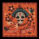 Day of Death Sombrero by StickaBomb