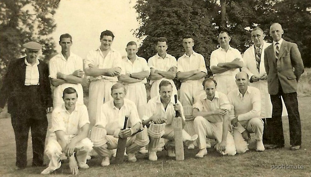 Cowley village cricket team by poohsmate