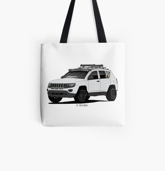 Jeep Compass 2015 All Over Print Tote Bag