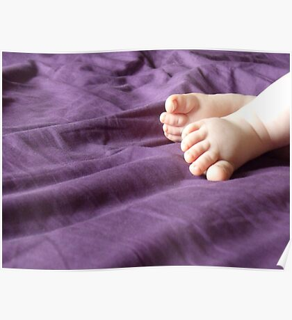 feet of a angel Poster