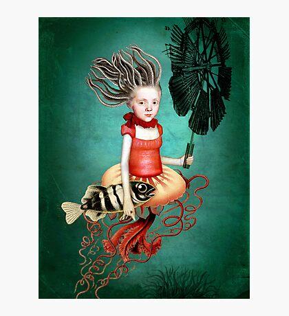 Die kleine Meerhexe Photographic Print