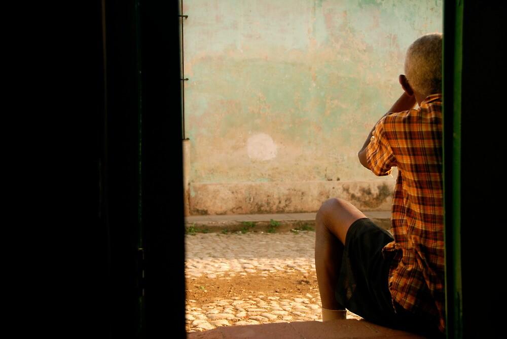the doorman by elbladeo