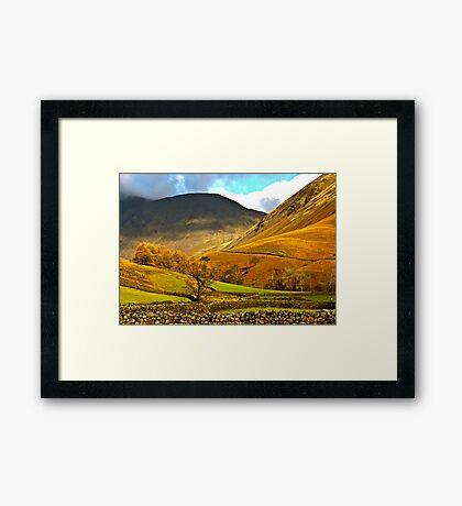 Autumn in Wasdale - Lake District Framed Print