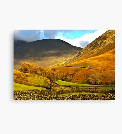 Autumn in Wasdale - Lake District Canvas Print