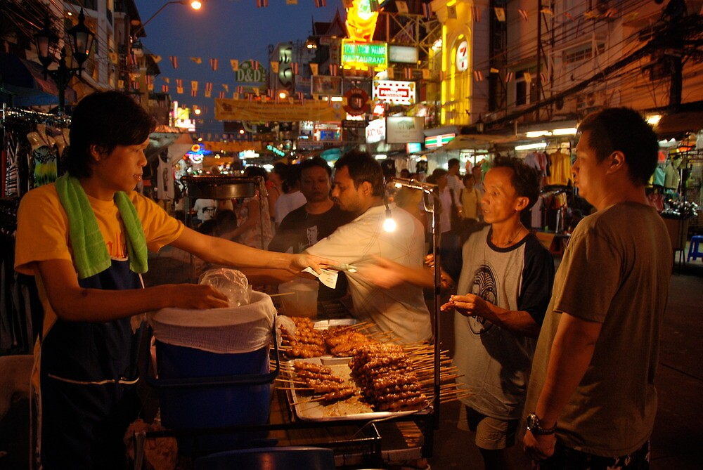 Khaosan Road Food by elbladeo