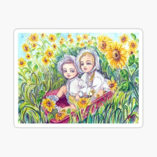 Dream of sunflower Sticker
