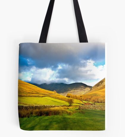 The Path through the Valley Tote Bag