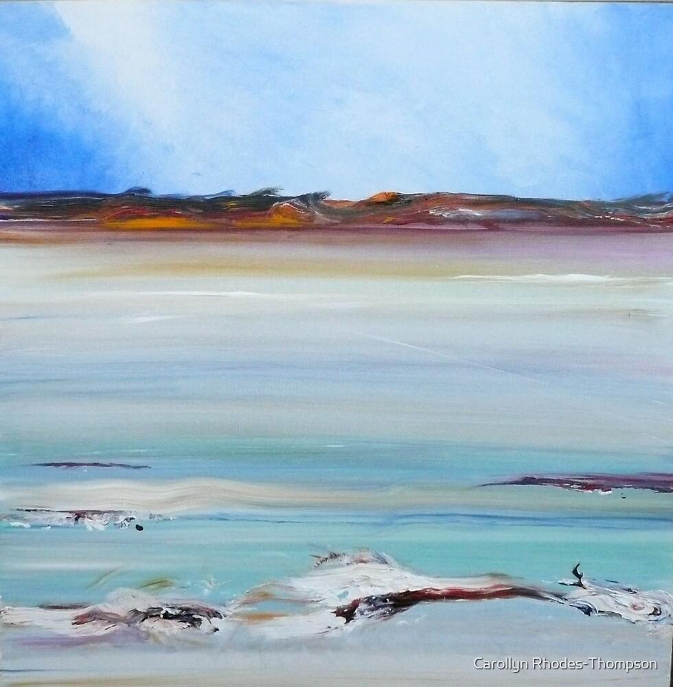 Still Calm- The salt lakes of Lake King by Carollyn Rhodes-Thompson