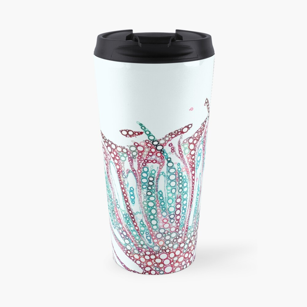 Bubbly Antheridial head Travel Mug