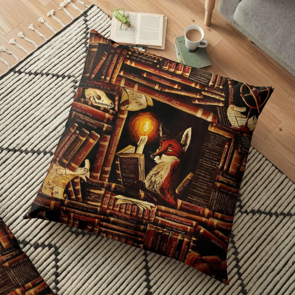 Media Overkill Floor Pillow