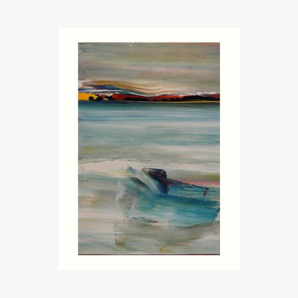 Resting Site - On Hopetoun Beach, Western Australia Art Print