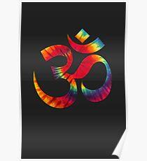 Tie-Dye Om Poster
