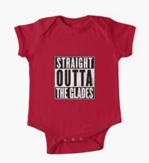 Straight Outta The Glades One Piece - Short Sleeve
