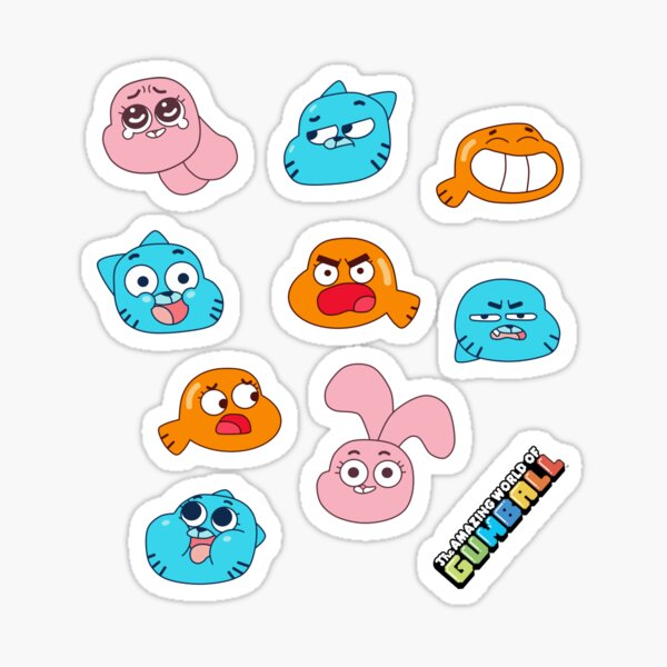 Le monde fantastique de Gumball Sticker