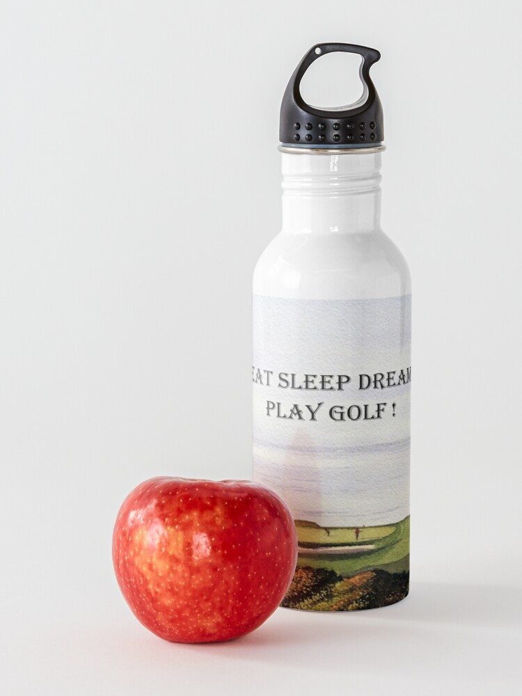 Alternate view of Eat Sleep Dream Play Golf Torrey Pines South Water Bottle